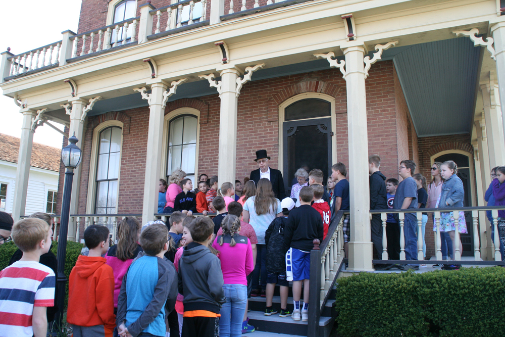Annual Fourth Grade Tour of the Richland Heritage Museums in Olney IL